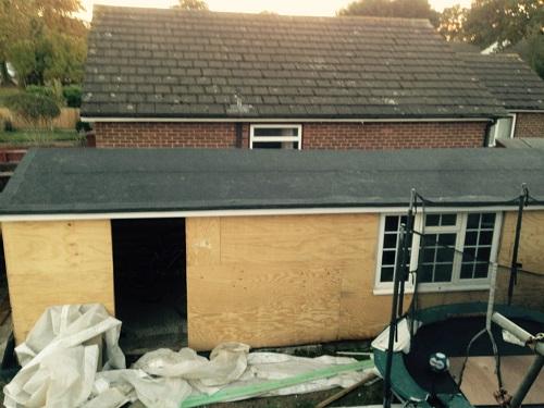 Garage Roofers Rochester Kent